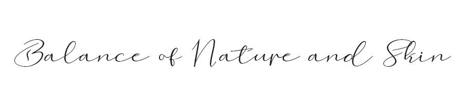 Balance of nature and skin